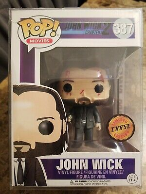 Funko Pop Movies John Wick Chapter 2 387 Limited Edition Chase