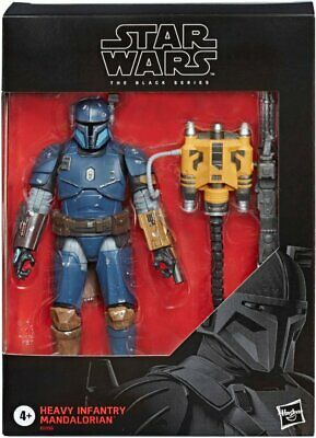 Star Wars - The Black Series Heavy Infantry Mandalorian Deluxe Action Figure
