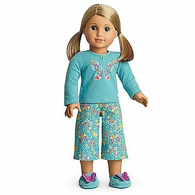 American Girl Butterfly Garden Pj's For Dolls NIB No Doll Isabelle Julie Blaire
