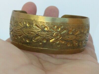 Rare Extremely Ancient Bracelet Bronze Viking Artifact Quality Very Stunning