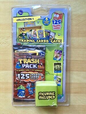 The Trash Pack Trading Card Game 10 Packs The Gross Gang In Your Garbage