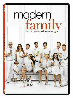 Modern Family: The Complete Tenth Season 10 (DVD, 2019, 3-Disc Set) New & Sealed