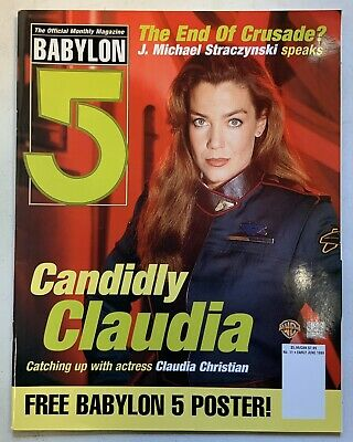 Babylon 5 The Official Monthly Magazine Early June 1999 No 11 Claudia Christian