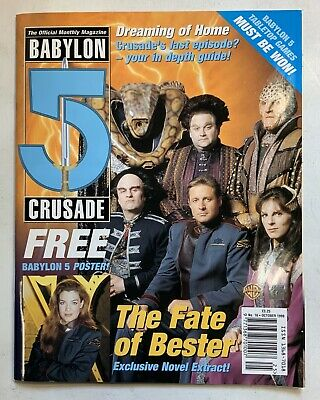 Babylon 5 The Official Monthly Magazine October 1999 Vol 2 No 16 Free Poster