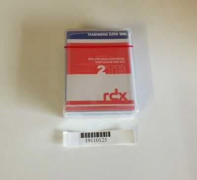 [C] Tandberg DATA 8731-RDX 2TB Data Cartridge