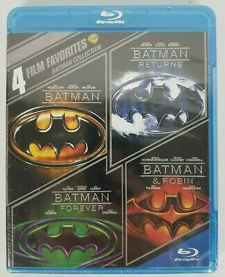 Batman Collection 4 Film Favorites Blu-ray Disc New Sealed