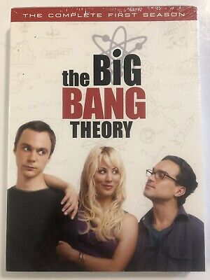 Big Bang Theory - The Complete First Season (DVD 2008, 3-Disc Set) Free Shipping