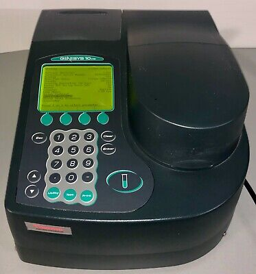Thermo Geneys 10 VIS Spectrophotometer