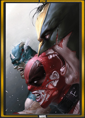 TOPPS MARVEL COLLECT Marvel Zombies #1 Gold Comic Book Day Digital Card