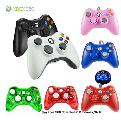 Wired/Wireless Game Controller Gamepad Joystick for Microsoft Xbox 360 &PC WIN