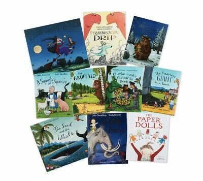 The Julia Donaldson Collection 10-Book Pack NEW In Neat Carry Bag