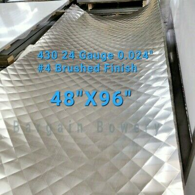 Quilted Food Truck & Restaurant Diamond Quilted Stainless Steel 24 Ga 4' X 8'