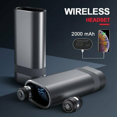 TWS Bluetooth 5.0 Headset Wireless HIFI Stereo In-ear Headphone Noise Reduction