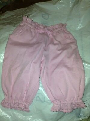 Ralph Lauren Age 12 Month Girls Tracksuit style Trousers Pink