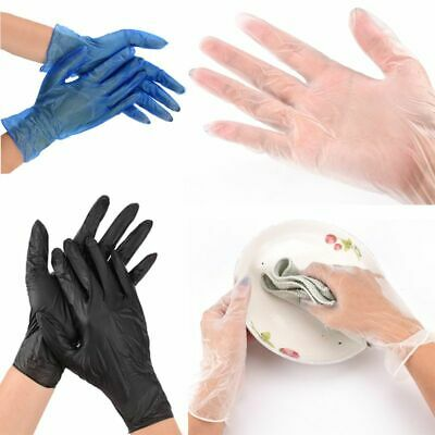 1000 Disposable Vinyl Gloves | Powder Free Latex Free | Food Medical Surgical