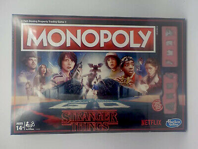 Monopoly STRANGER THINGS Edition Brand New in Box