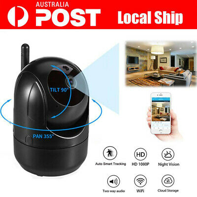HD 1080P Wireless IP Camera Auto Smart Tracking Home Security Baby Pet Camera AU
