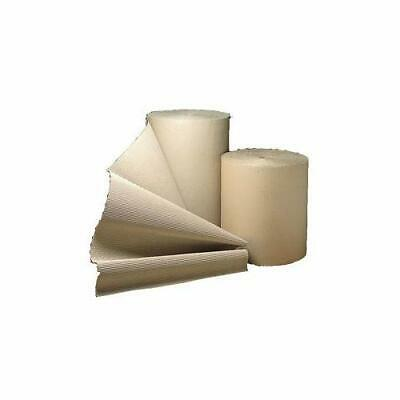 BRAND NEW 600mm x 75m CORRUGATED CARDBOARD PAPER ROLL 75 METRES / HIGH QUALITY