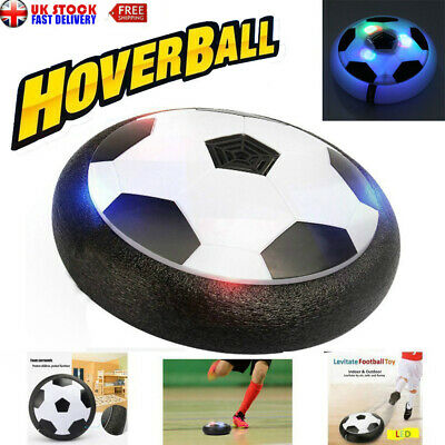 Indoor LED Hover Ball Air Power Floating Soccer Ball Light Up Football Xmas Gift