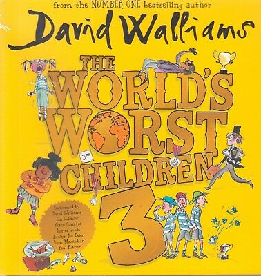 The World's Worst Children 3 by David Walliams BRAND NEW (Audio CD 2018)