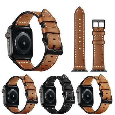 Luxury Leather Strap iWatch 5 Band For Apple Watch Series 4/3/2 38/40MM 42/44MM
