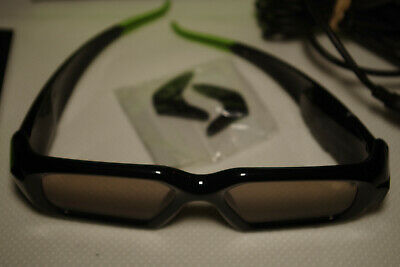 NVIDIA 3D VISION Wireless Glasses P854 (Without IR Emitter) Boxed