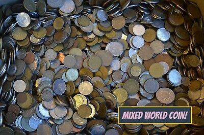 100 / 50 / 25 Clean WORLD COINS COLLECTION - FREE UK POST - 1900s - 2000s