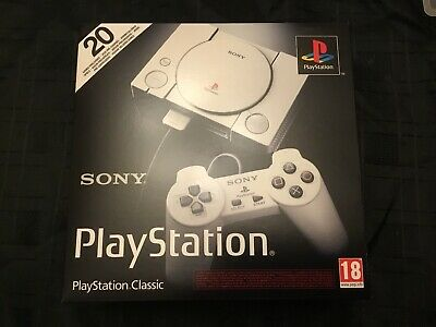 PlayStation PS Classic Mini Console - 20 preloaded games - New & Sealed