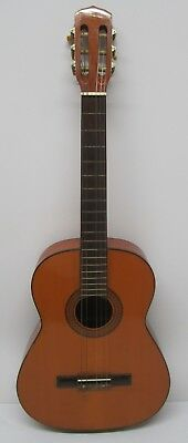 Vtg c1970s Acoustic Parlor Guitar 6 String Instrument Unmarked As Is For Repair