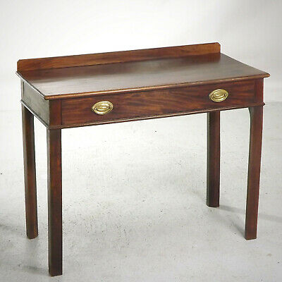 Antique Mahogany Desk Side Table (delivery available) Georgian C1800