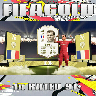 FIFA 20 Ultimate Team 🔥 1x Random Rated Player 91+ 🔥 Coin Value 🔥 PS4