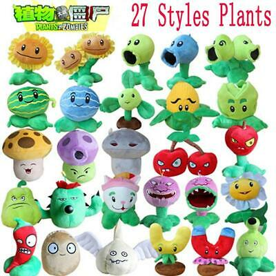 Plants vs Zombies Plush Toys 13-20cm PVZ Plants Plush Stufferd Toys Soft Game