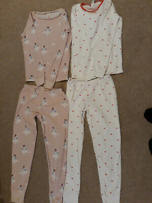2 x Pairs Mini Boden Pyjamas / Long Johns Age 11 VGC