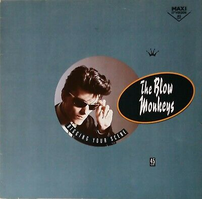 "THE BLOW MONKEYS - Digging Your Scene ; 12"" Maxi"