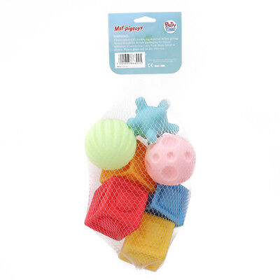 Building Block Ball Toys Floating Squeeze Sound Squeaky Baby Bathing Toys one