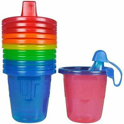 The First Years Take & Toss Spill-Proof Sippy Cups - Multicolor - 7 oz - 6 ct