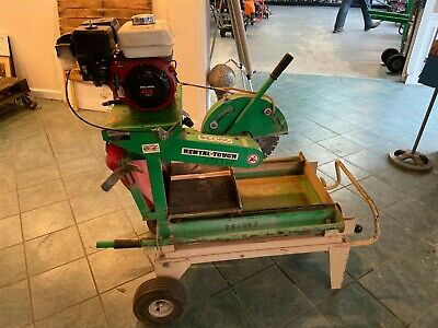 "EDCO 14"" Masonry/Brick Concrete Saw 5.5 HP Honda Model: BB14G-5.5H"