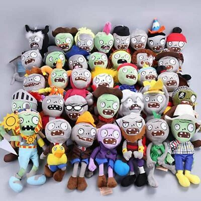 23 Styles Plants vs Zombies Plush Toys 30cm Plants vs Zombies Soft Stuffed Plus