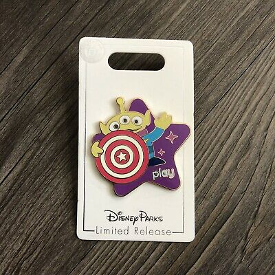 Disney Parks Play Pin Toy Story Midway Mania Little Green Alien Men Retired LGM