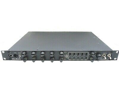 Mesa Boogie Formula Pre Stereo 3-Channel Tube Rack Mount Guitar Preamp