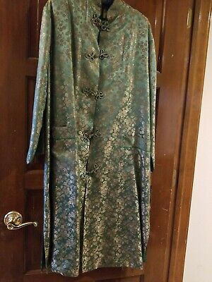 100% Silk Women's Japanese Completely Lined Robe