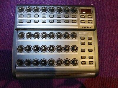 Behringer BCR2000 USB/MIDI Controller with Zaquencer step sequencer firmware