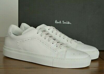 Paul Smith Wooster Leather Trainers White Size UK 10 EU 44 RRP £265
