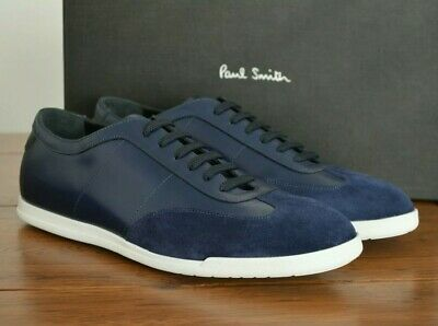 Paul Smith Holzer_ Leather Trainers Navy Size UK 9 EU 43 RRP £285