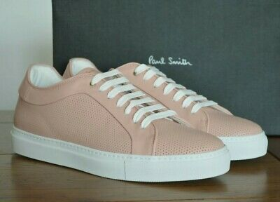Paul Smith Basso Perforated Trainers - Light Pink Size UK 9 EU 43 RRP £265