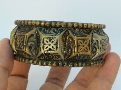 Extremely Rare Ancient Bracelet Bronze Viking Artifact Authentic Amazing