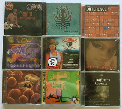 Lot Of 45 CDs Rock Punk EDM Blues Country Classical Hip Hop Brand New Sealed