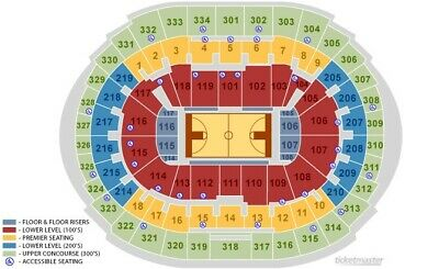 2 Tix Sec 214 ROW 9 LOWER CLIPPERS vs ROCKETS 12/19 7:30 PM INSTANT DELIVERY