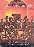 When The Pipers Play DVD Instrument of War Region Free Highland Bagpipe