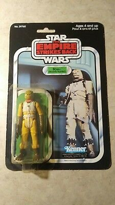 Vintage 1980 Kenner STAR WARS BOSSK ESB 41 Back FREE SHIPPING